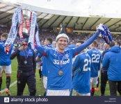 rangers-kenny-miller-lifts-the-cup-after-winning-the-petrofac-training-G8WAP0.jpg