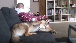 Saturday morning snuggles Gerogia Kerry .jpg