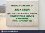 jock-stein-plaque-on-the-ninian-park-memorial-gates-outside-cardiff-F0M8CW.jpg